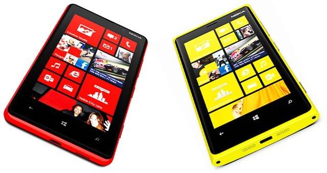 Nokia Lumia 820 i Nokia Lumia 920