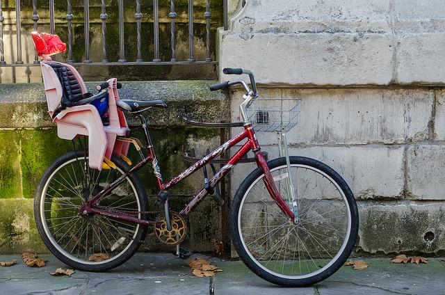 Krzesełko rowerowe dla dziecka