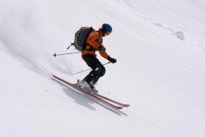 Narty narciarz