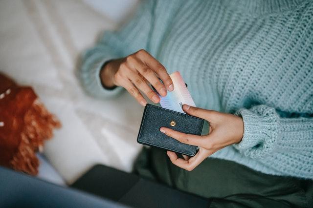 karta w portfelu